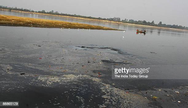 View of Ganga River at Kanpur in Uttar Pradesh India