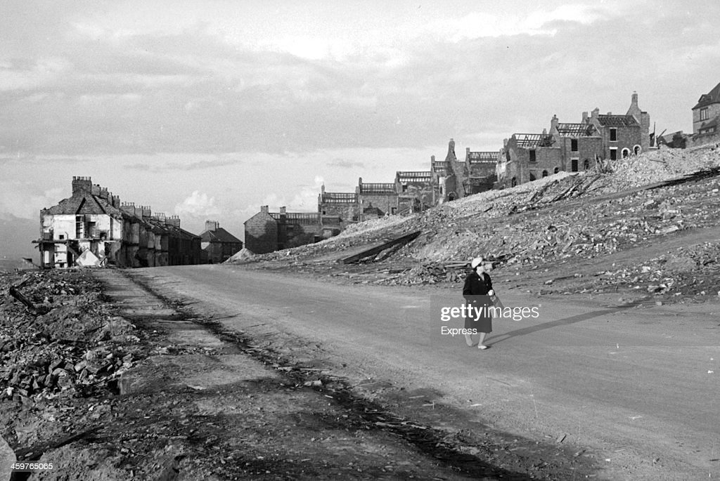 A view of Gateshead the biggest town on the road between NewcastleonTyne and London has 400 houses unfit for habitation it is replacing them with a...
