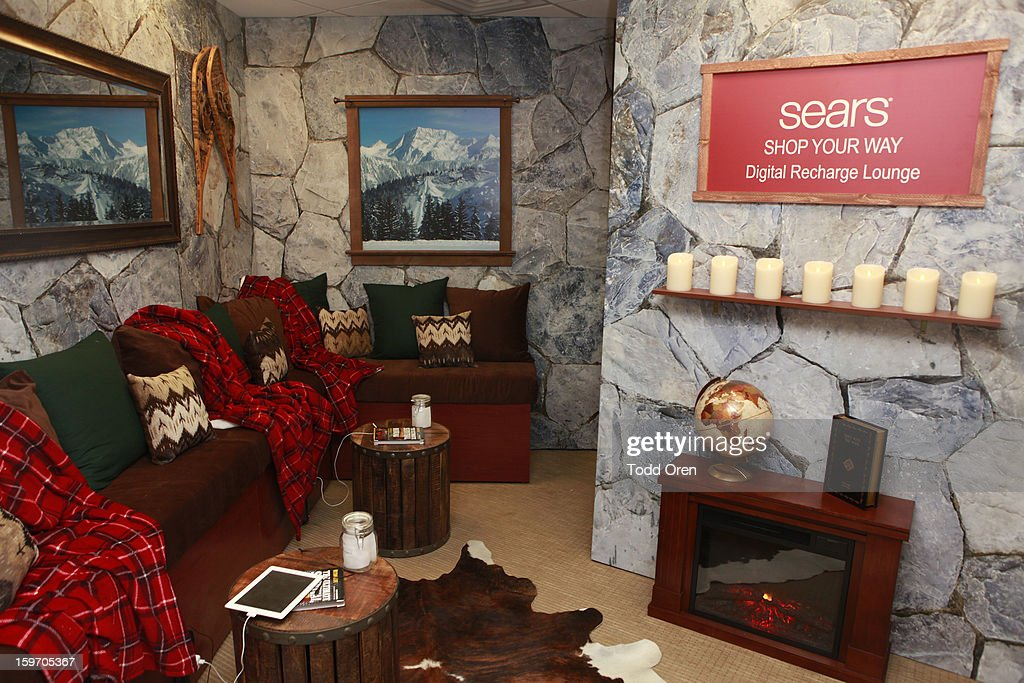 A view of general atmosphere at Sears Shop Your Way Digital Recharge Lounge on January 18, 2013 in Park City, Utah.