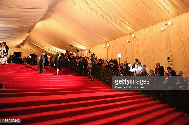 A view of general atmosphere at the Costume Institute Gala for the 'PUNK Chaos to Couture' exhibition at the Metropolitan Museum of Art on May 6 2013...