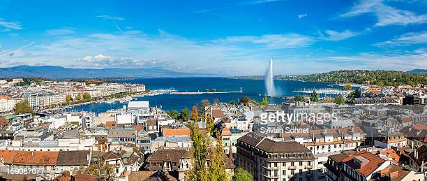 View of Geneva from St. Pierre Cathedral