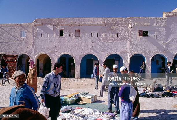 View of Ghardaia market Algeria