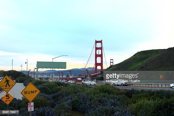 View Of Golden Gate Bridge Against Sky