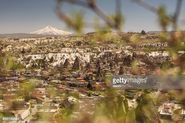 View of Goreme, old city of Cappadocia, Turkey