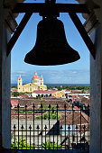 View of Granada, Nicaragua from a bell tower