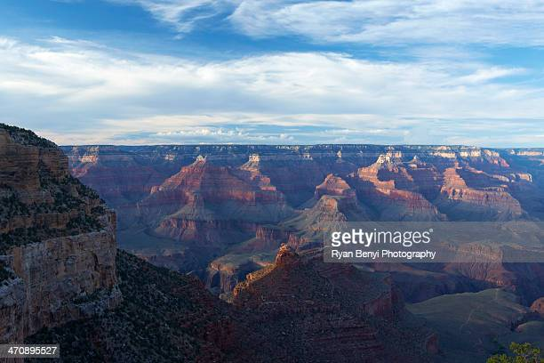 View of Grand Canyon from south rim, Nevada, USA