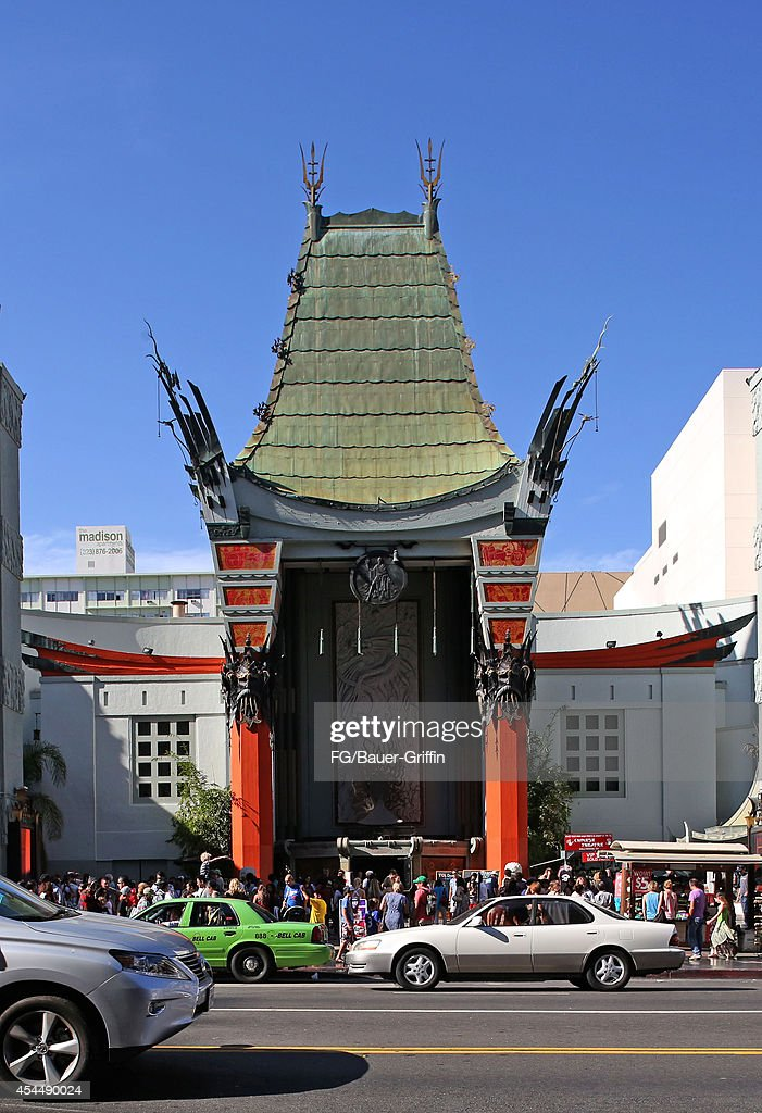 A view of Grauman's Chinese Theatre on September 01 2014 in Los Angeles California