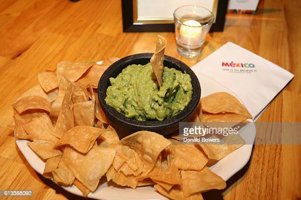 A view of guacamole during Flavors of Mexico Presented by Mexico Tourism during The New Yorker Festival 2016 at Casa Neta on October 8 2016 in New...