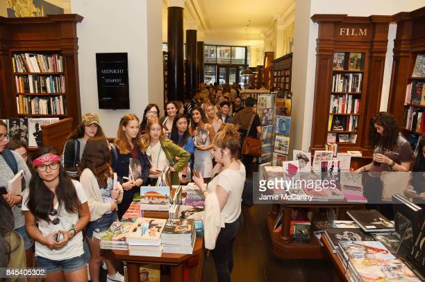 A view of guests as Brooklyn Beckham signs WHAT I SEE at Rizzoli New York at Rizzoli Bookstore on September 10 2017 in New York City