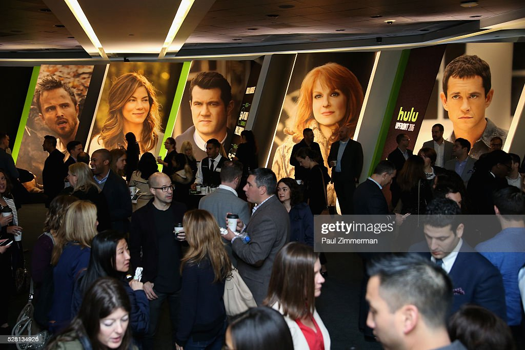 A view of guests attending the 2016 Hulu Upftont - Presentationon May 04, 2016 in New York, New York.