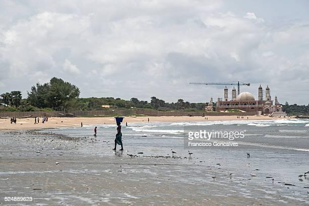 View of Gunjur Beach, Gambia