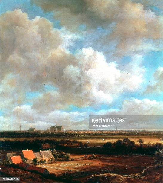 'View of Haarlem' 1670 A Dutch landscape with the city of Haarlem in the background Rijksmuseum Amsterdam