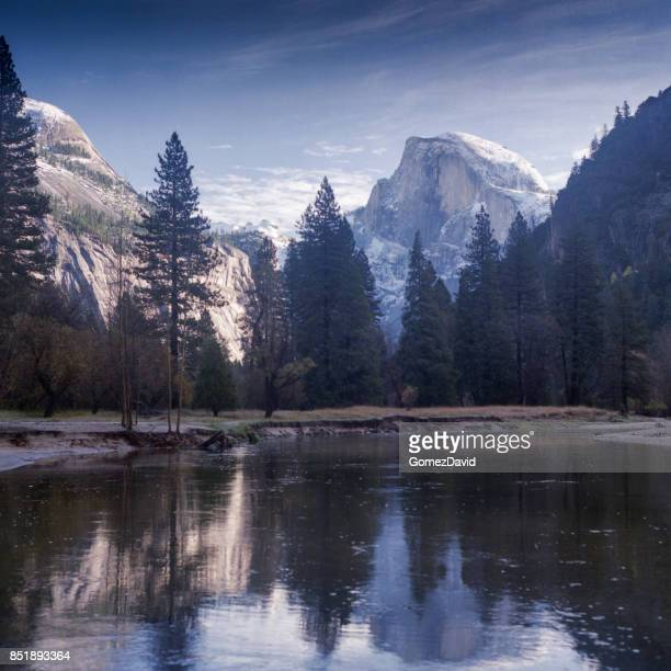 View of Half Dome from Merced River
