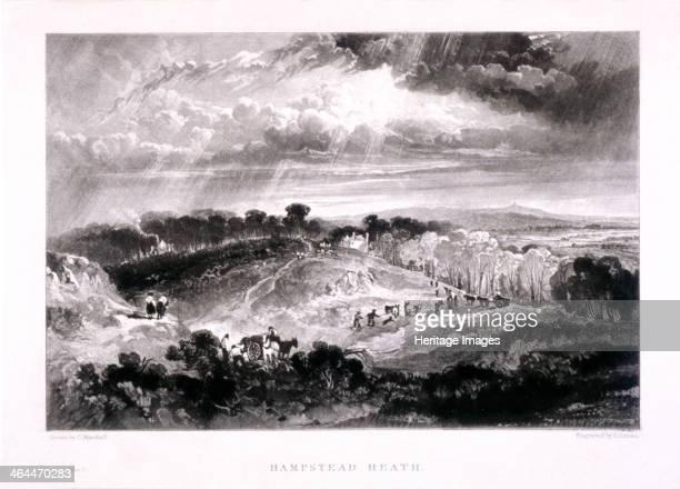 View of Hampstead Heath Hampstead London 1832