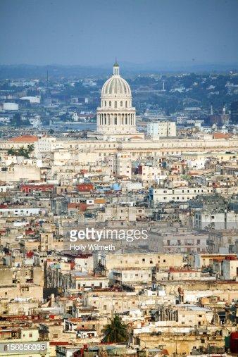 View of Havana's Capitolio. : Stock Photo