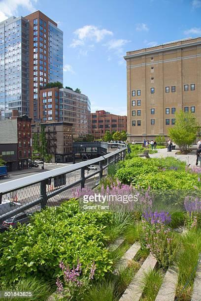 View of Highline walkway
