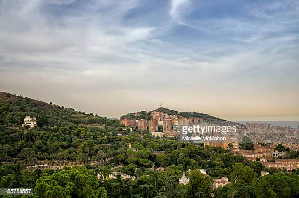 CONTENT] View of hillside house at Park Guell A major tourist attraction and one of the most impressive public parks in the world The park was...
