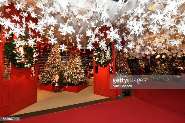 A view of Holiday Lane at Macy's Herald Square on November 17 2017 in New York City