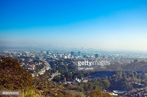 View of Hollywood, California