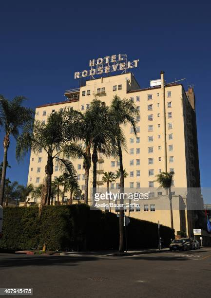 A view of Hollywood Roosevelt Hotel on February 01 2014 in Los Angeles California