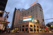 A view of Hollywood Roosevelt Hotel on February 02 2014 in Los Angeles California