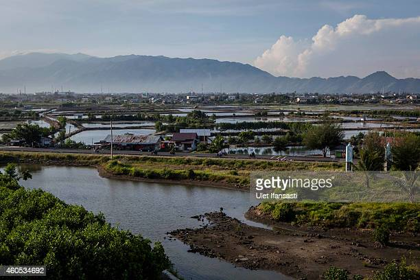 A view of houses on December 15 2014 in Banda Aceh Indonesia Aceh was the worst hit location being the closest major city to the epicentre of the 91...
