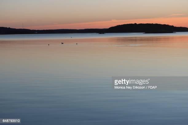 View of idyllic sea