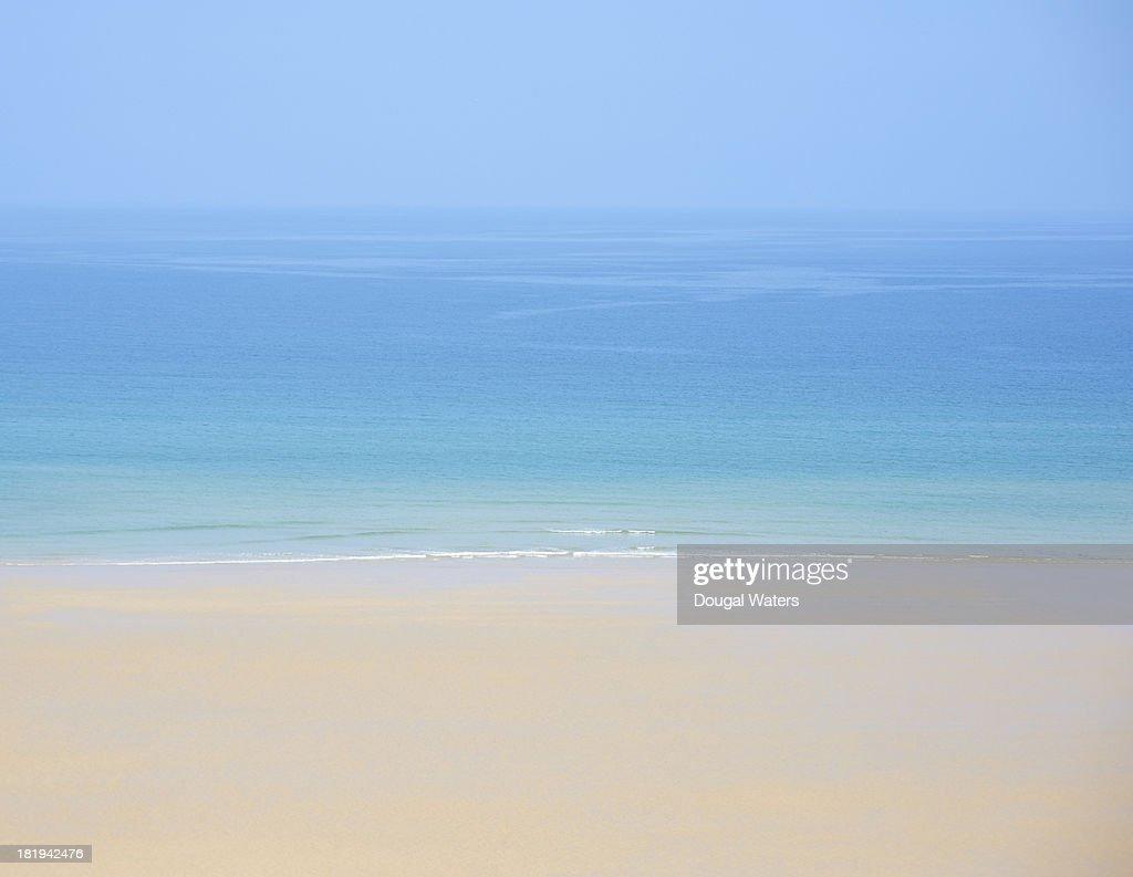 View of idyllic seascape. : Stock Photo
