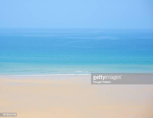 View of idyllic seascape.