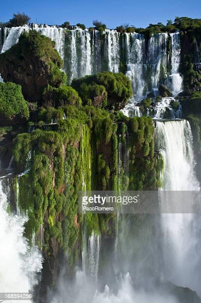 Blick auf die Wasserfälle von Iguazu, Argentinien
