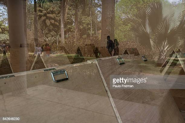 A view of Inhotim Contemporary Art Institute on September 7th in Brumadinho Minas Gerais Brazil