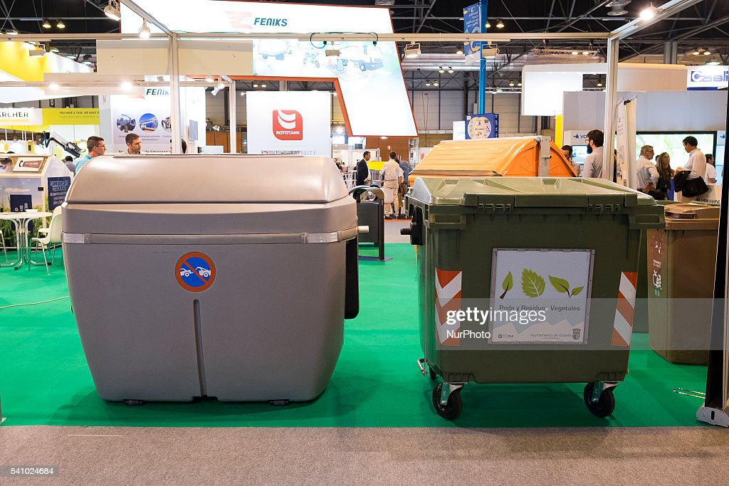 View of International Fair Clean Planning and Environment It takes place from June 15 to 17 at IFEMA Madrid Spain on June 16 2016