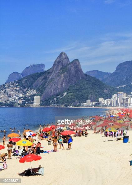CONTENT] View of Ipanema beach Rio de Janeiro/RJ Brazil
