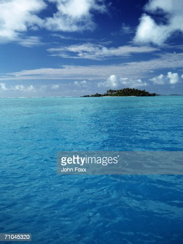 View of island : Foto de stock