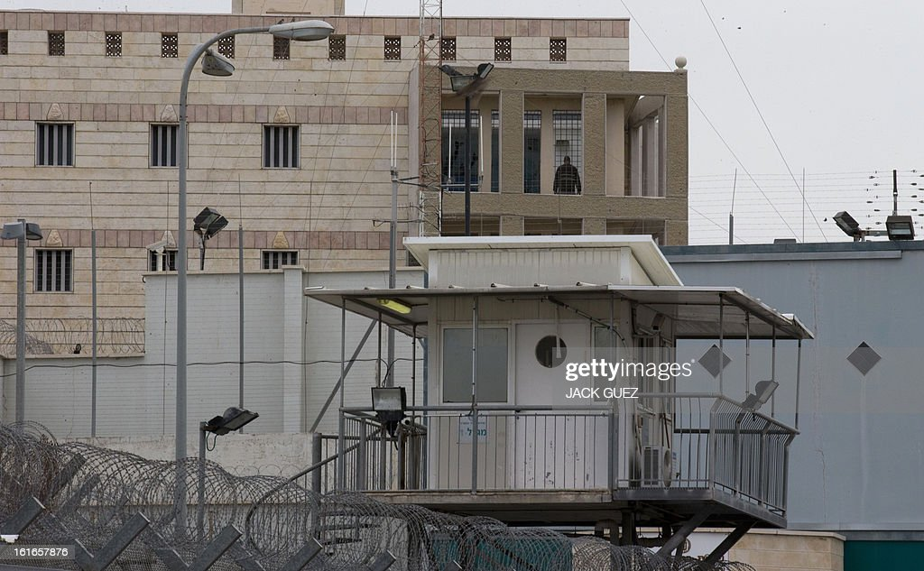 A view of Israeli Ayalon prison in Ramle near Tel Aviv on February 14, 2013. Israel has confirmed it jailed a foreigner in solitary confinement on security grounds who later committed suicide, as Australia admitted it knew one of its citizens had been secretly held.