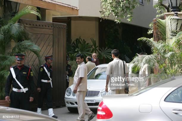 View of Jalsa Bungalow during the wedding of Aishwarya and Abhishek Bachchan