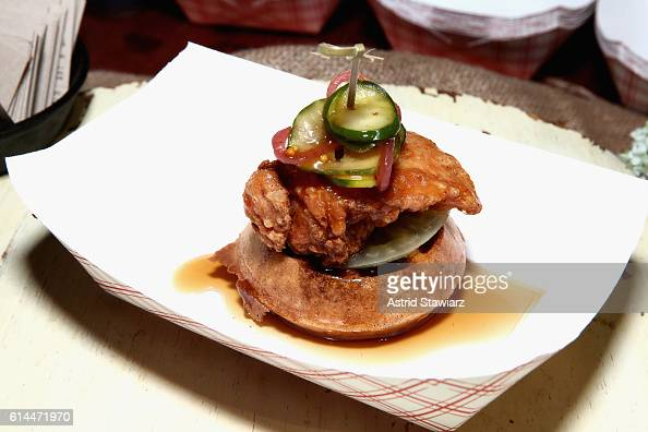 Booth and Jeff McInnis' Fried Chicken and Waffle Sandwich at Chicken ...