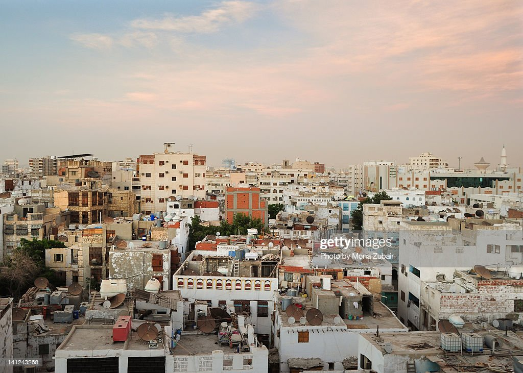 View of Jeddah's old city