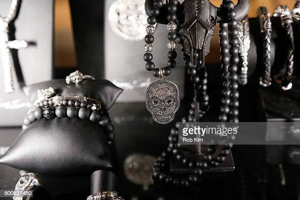 A view of jewelry at Thomas Sabo US Launch at Nomo Soho Hotel on December 9 2015 in New York City