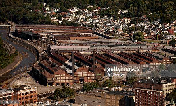 A view of Johnstown Pennsylvania on October 6 2016 Johnstown Pennsylvania with a population of 25000 has been a traditionally democratic stronghold...