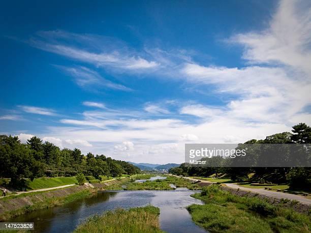 View of Kamo-gawa river