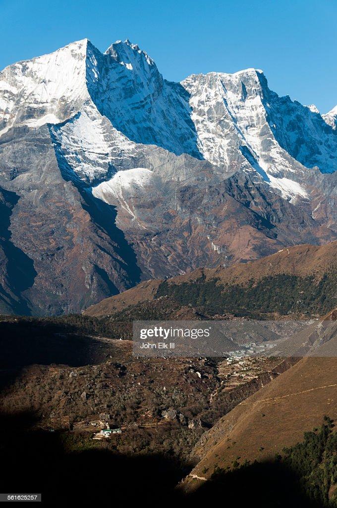 View of Kantega massif