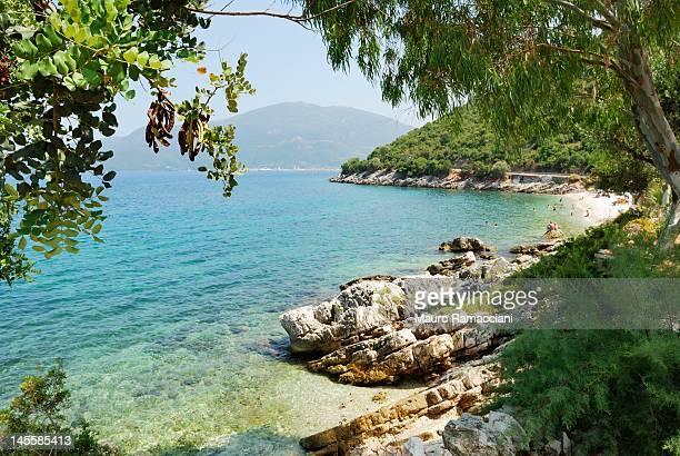 View of Kefalonia beach