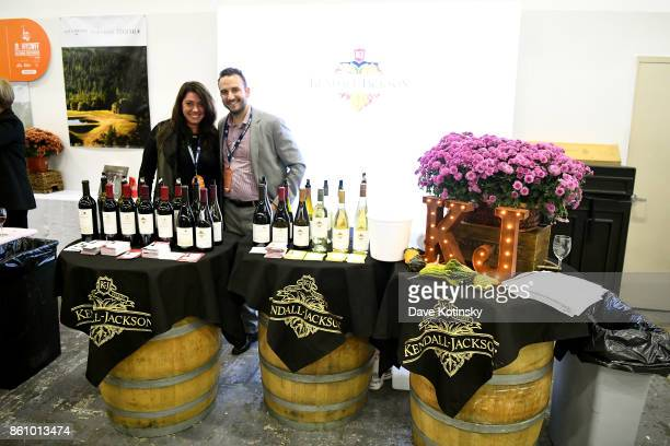 A view of KendallJackson wines at Southern Glazer's Wine Spirits of New York Trade Tasting presented by Beverage Media Group during the Food Network...
