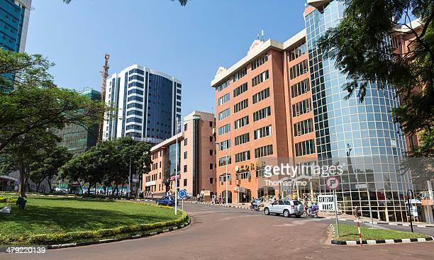 View of Kigali on February 03 2014 in Kigali Rwanda