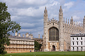View of King's college chapel