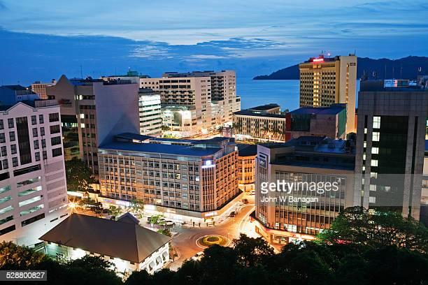 View of Kota Kinabalu city, Sabah, Malaysia