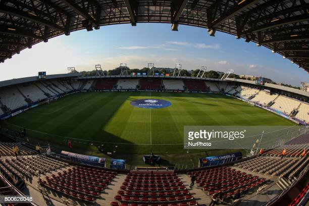 View of Krakow Stadium before the UEFA U21 European Championship Group C football match Italy v Germany in Krakow Poland on June 24 2017