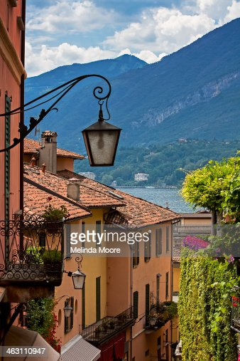 View of Lake Como from Upper Street Bellagio