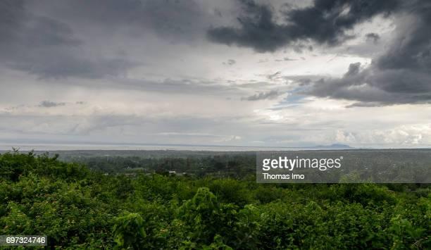 View of Lake Victoria on May 16 2017 in Kisumu Kenya